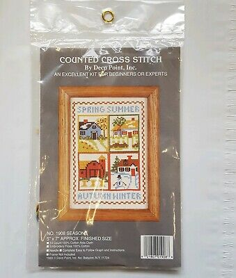 Deco Point - New Vintage Deco Point, Counted Cross Stitch Kit Seasons 5