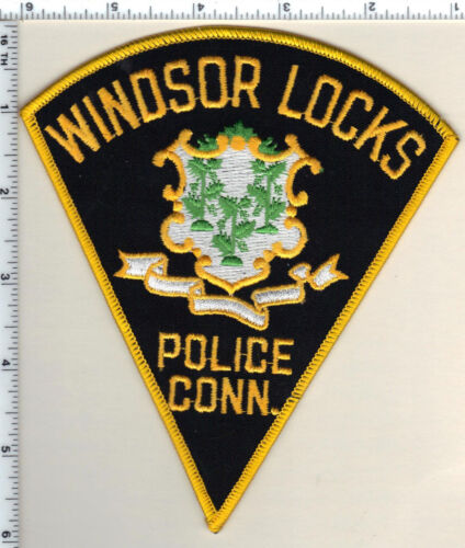 Windsor Locks Police (Connecticut) Shoulder Patch - new from 1989