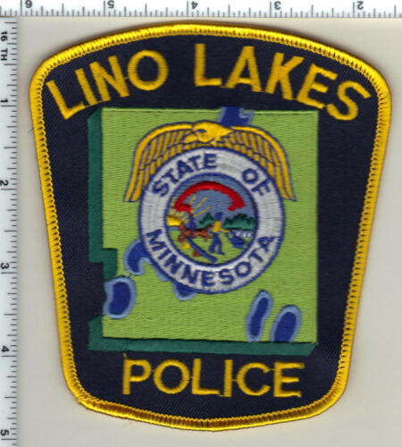 Lino Lakes Police (Minnesota)  Shoulder Patch  - new from the 1980