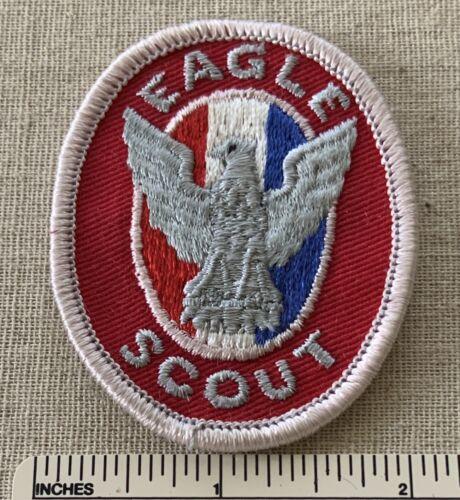 Vintage 1970s EAGLE SCOUT Boy Scouts Rank Badge PATCH BSA Uniform Sash Award PB