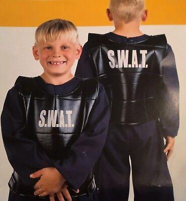 S.W.A.T. Spezialeinheit Kostüm Kinder Fastnacht Karneval 3-5 Jahre, NEU in - Kinder Spezialeinheit Kostüm