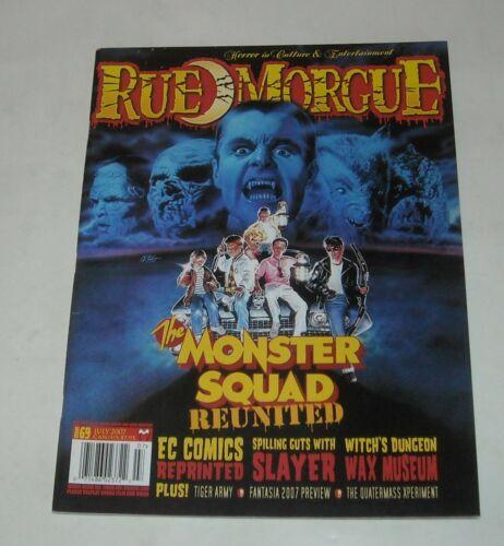 2007 RUE MORGUE MONSTER HORROR MAGAZINE # 69 MONSTER SQUAD EC COMICS SLAYER