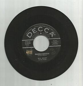 BILL-HALEY-COMETS-Razzle-Dazzle-orig-Decca-45-vinyl-record-1955-rockabilly