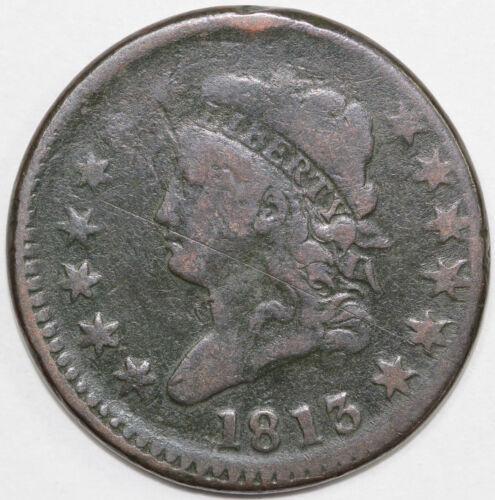1813 1c Classic Head Large Cent