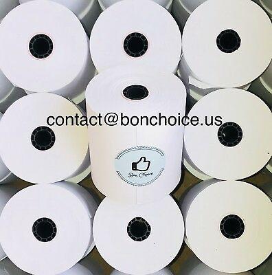 Paper Roll 38 3 X 150 1-ply Paper Rolls Kitchen Printer Epson Tm-u210 220 230