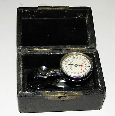 L.s. Starrett 170 Sheet Indicator Dial Gage With Case
