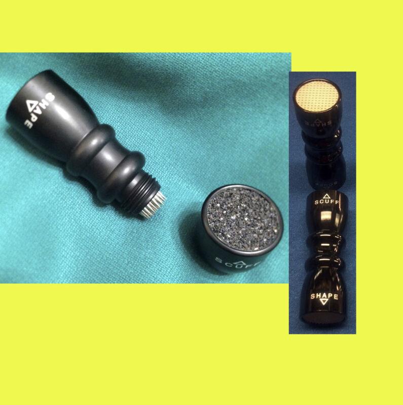 Ultimate 3 in 1 Bowtie Shaper BLACK tip pick tool cue tip repair FREE SHIPPING