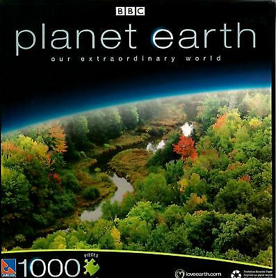 Jigsaw Puzzle 1000Pc Planet Earth Seasonal Forests 28 75 X19 125  New  Ty90