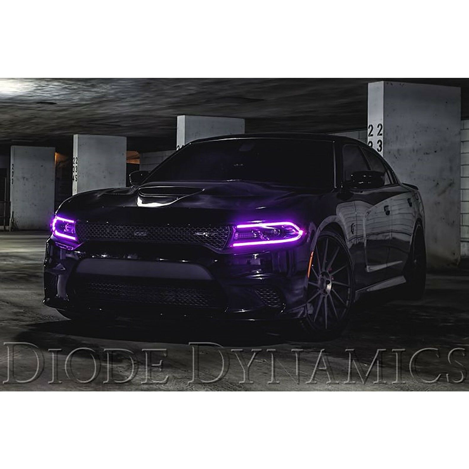 RGBW LED Multi-Color Changing Headlight Accent Pair For