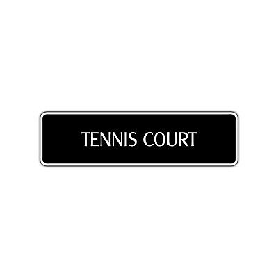 Player Street Sign - Tennis Court Street Sign Player Ball Shop Teacher Instructor Team Lessons Gift