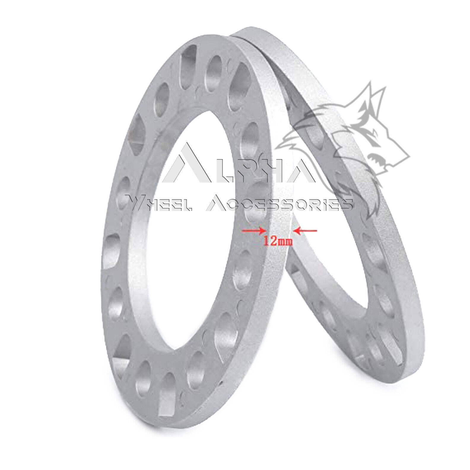 Wheel Spacer Adapters For Dodge Ram 2500 3500-8x165.1 to 8x180mm Conversion
