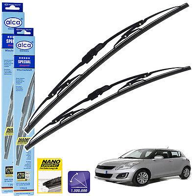 """Fits Suzuki SX4 Hatch 26/"""" 13/"""" Front Aero Flat Jointless Wiper Blades"""