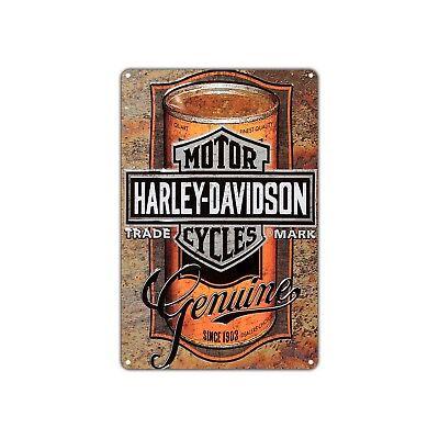 Harley-davidson Motor Cycles Vintage Retro Sign Decor Art Shop Man Cave Bar