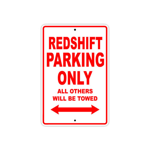 alta redshift parking only towed motorcycle bike