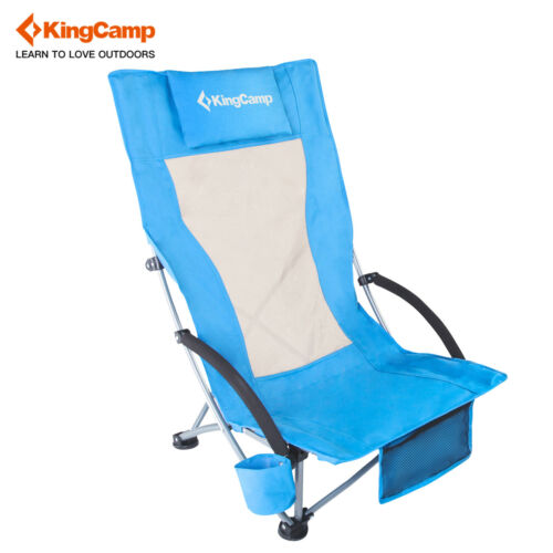 KingCamp Light Low Sling Beach Folding Chair Camping  Reclin
