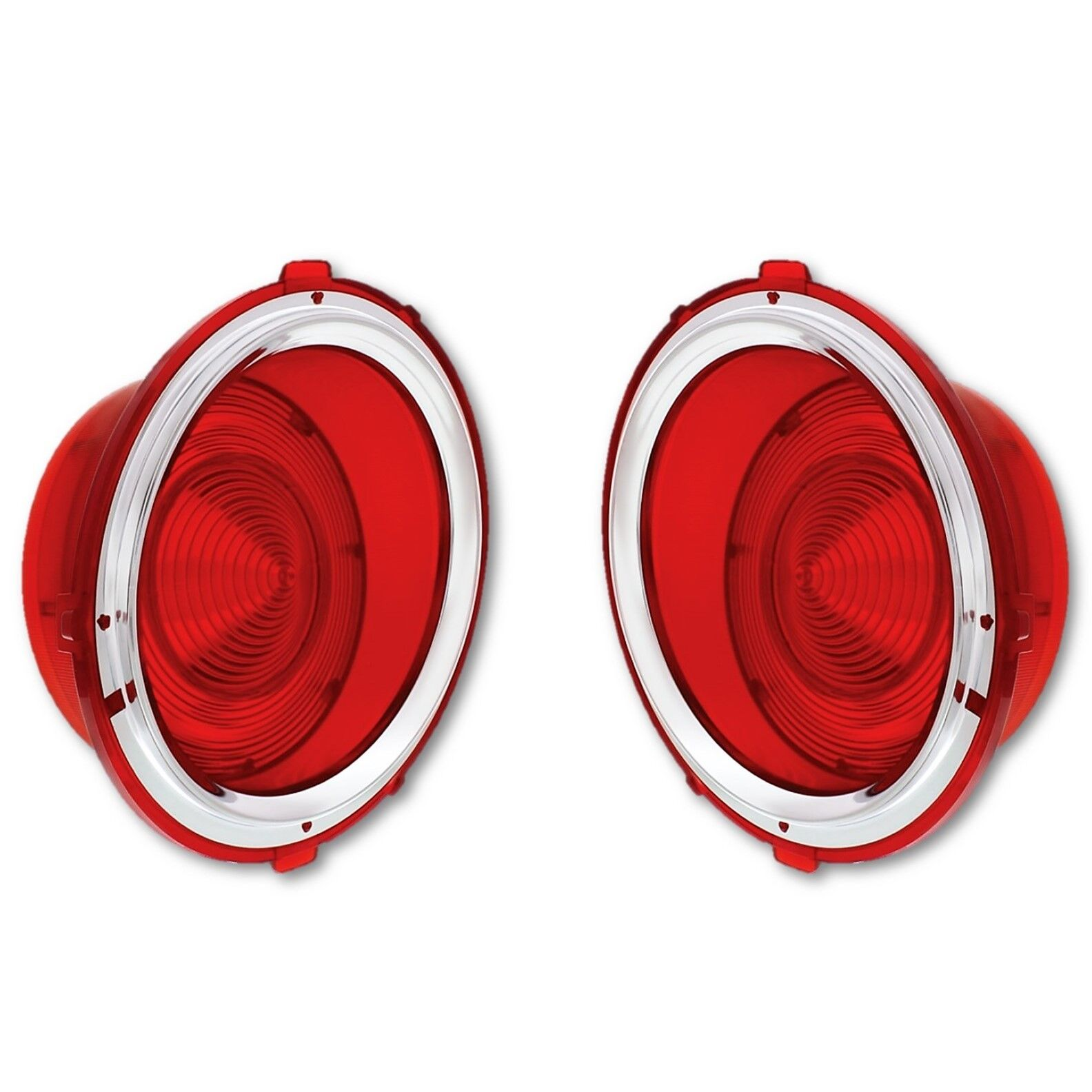 1970 1971 1972 1973 Camaro Parking Light Lens with Gaskets Pair