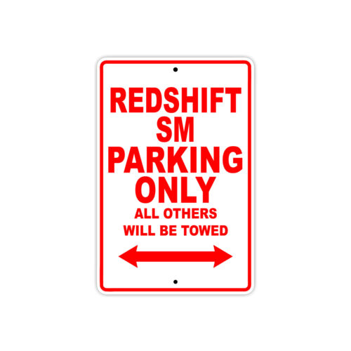 alta redshift sm parking only towed motorcycle
