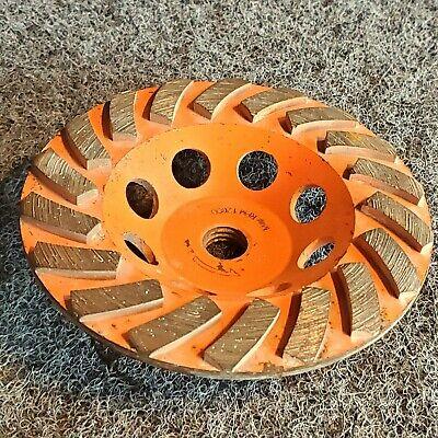 Orange 5 Concrete Grinding Cup Wheels Diamond