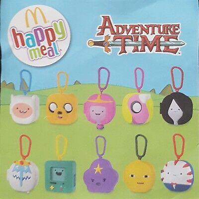 McDonalds toys Adventure Time 2017 Full set of 10 toys new sealed