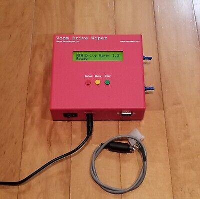 VOOM Drive Wiper 1.2 ATA Portable Forensic HDD Disc Wiper Sanitizer XLDWPL-1