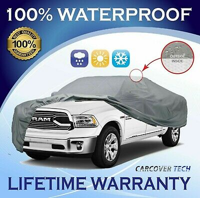 100% Weatherproof Full Pickup Truck Cover For Dodge Ram [2000-2020]