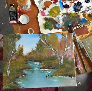 Bob Ross Sip N Paint Art Classes Party Hire Gumtree Australia