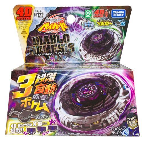 TAKARA TOMY Diablo Nemesis X:D Metal Masters Fury Beyblade BB-122 - USA SELLER