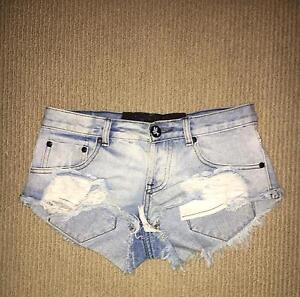 Women's Denim Shorts. Size 8. Excellent condition. Carlton North Melbourne City Preview