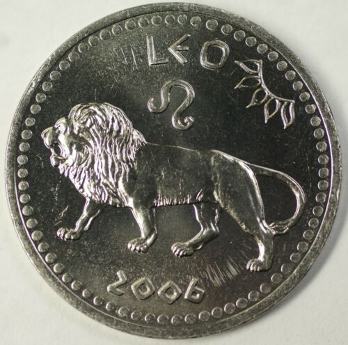 2006 Somaliland Leo 10 Shilling Zodiac Coin BU