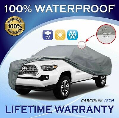 100% Weatherproof Full Pickup Truck Cover For Toyota Tacoma [2000-2020]