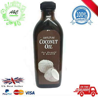 100% Pure Aceite Coco Orgánico para la Piel Hidratante & Pelo Crecimiento...