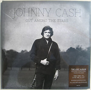 JOHNNY CASH LP Out Among The Stars - The Lost Album 180 Gm Vinyl + Download +Pro