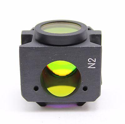 Leitz N2 Cube Filter Block For Ploemopak Fluorescence Microscope Green Ex