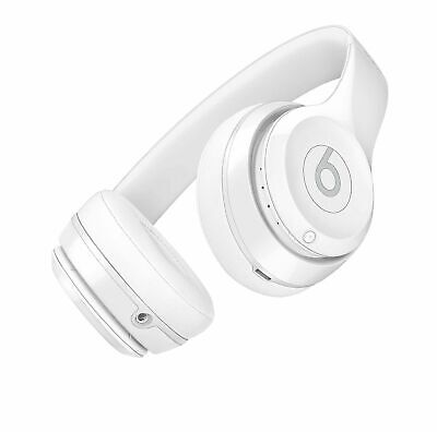 Beats by Dr. Dre Solo3 Wireless Headband Headphones - Gloss White