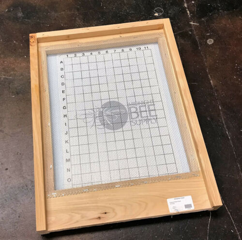 Screened IPM Bottom Board 10 Frame Hive Langstroth Beehive -  FREE SHIPPING