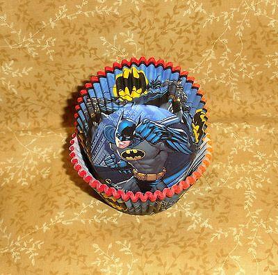 Batman,Dark Knight,Cupcake Papers,Multi-color,50 Ct.,Wilton,415-5140,DC - Batman Cupcake Liners