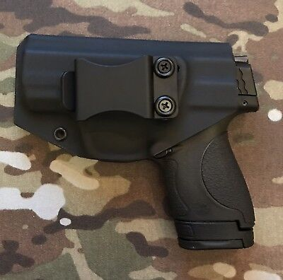 Shield IWB Holster Fits Smith And Wesson M&P Shield 9mm/40 Cal, Left (Smith And Wesson Shield Left Handed Holster)