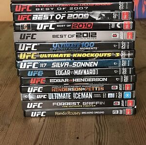 UFC DVDs -6 x seasons of TUF and various PPVs Tullamarine Hume Area Preview