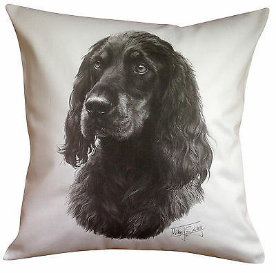 Gordon Setter MS Breed of Dog Themed Cotton Cushion Cover - Perfect Gift