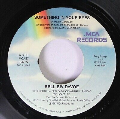 90'S 45 Bell Biv Devoe - Something In Your Eyes / Something In Your Eyes On