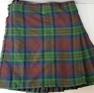 Ilse Of Skye 8 Yard  wool KILT EX HIRE £99 A1 CONDITION