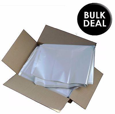 200 X CLEAR Refuse Sacks Bin Liner Rubbish Bags Waste Bag 150g - 17 X 29 X 38