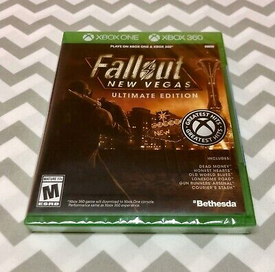Fallout New Vegas Ultimate Edition - Xbox 360/Xbox One. Brand New! Fast Shipping
