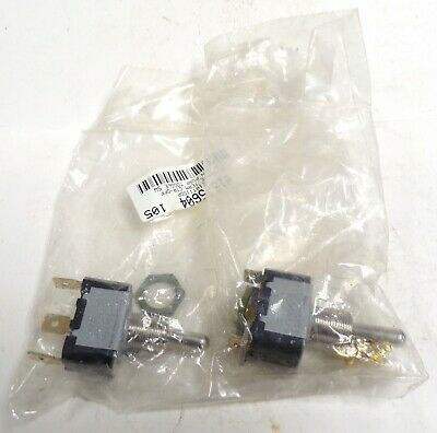 Eaton Cutler-hammer Toggle Switch Kit E10t115dp 125250vac 28vdc Lot Of 2