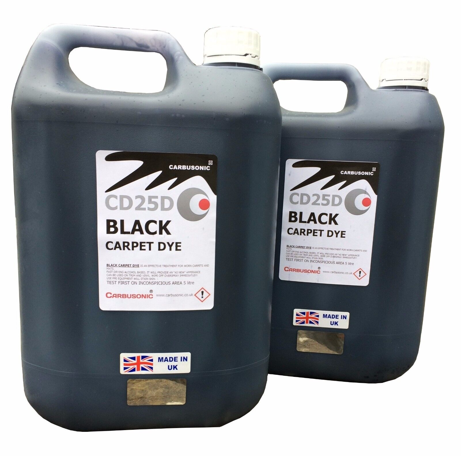 Black carpet dye - interior renovation , car trim 10 Litre free delivery.