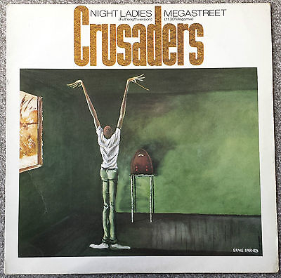 "The Crusaders..Night Ladies - Megastreet MCA Records 12"" Single"