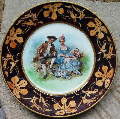Germany Vintage Plate Plate Vintage Serving Plate Cake Plate Cookies Plate Serving Bowl 80s Plate Cookie Plate HP
