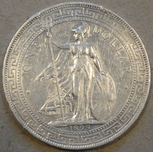 Great Britain 1899-B Trade Dollar XF