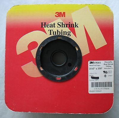 3 Feet 3m Fp301 Black Polyolefin Heat Shrinkable Tubing Shrink Tube 316 X 36