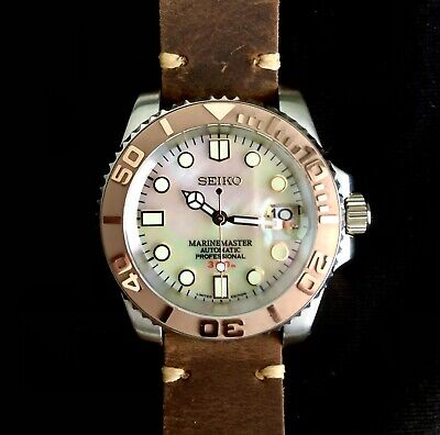 Sekio NH36 Movement MOP DIAL Sapphire Crystal rose gold